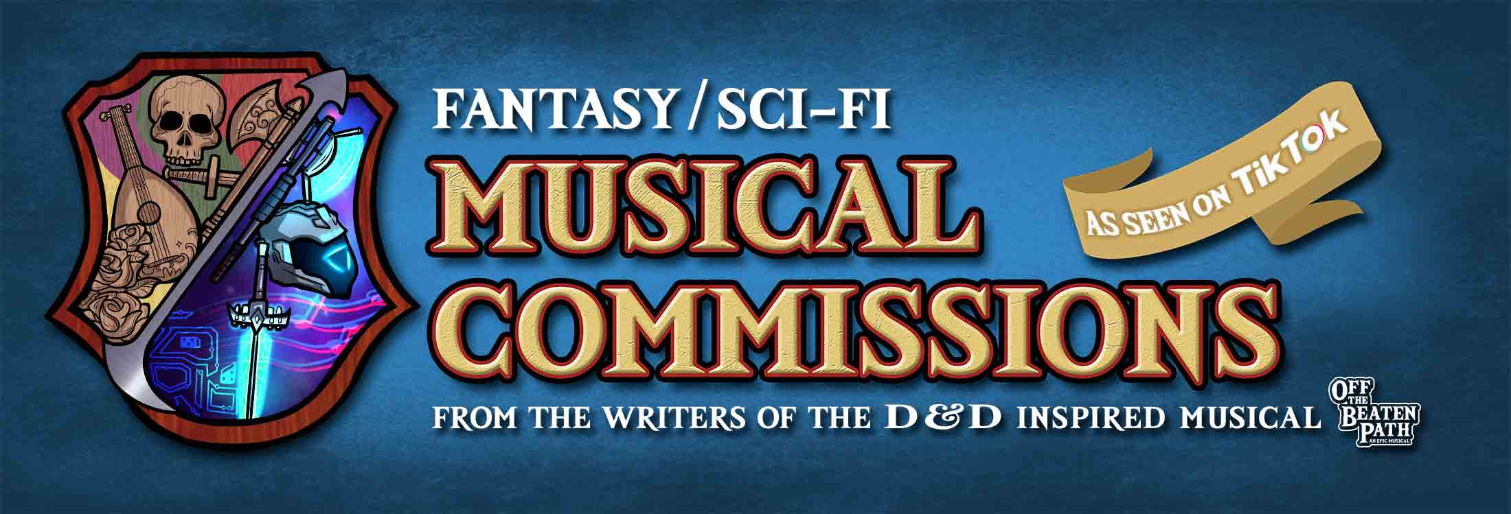 Sci-fi & Fantasy Musical Commisions